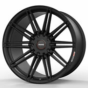 19 Momo Rf-10s Black 19x8.5 19x10 Concave Wheels Rims Fits Ford Mustang Gt