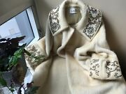 Andnbsprare Vintage 50s Lilli Ann Mohair Wool White Swing Coat. Size Large.andnbsp
