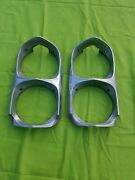 1966-1967 Gto Headlight Bezels Vintage Used Auto Read Discription Will Offer