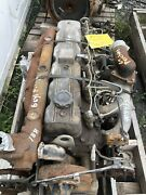 Perkins 6 Cylinders Diesel Engine Running Take Out