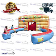 20x20ft Inflatable Circus Jugglers Or Clowns Interactive Shows With Air Blower
