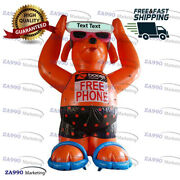 13ft Inflatable Dog Promotion Outdoor Advertising With Air Blower