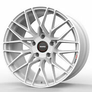 18 Momo Rf-20 White 18x8.5 18x9.5 Concave Forged Wheels Rims Fits Nissan 350z
