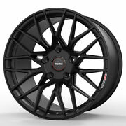 19 Momo Rf-20 Black 19x8.5 19x10 Concave Forged Wheels Rims Fits Nissan 370z
