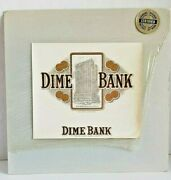 American Antique Graphics Lithograph Dime Bank Building Us Patent Office Coins