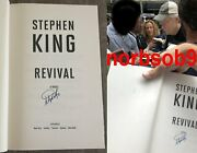 Stephen King Signed Revival 1st Edition 1st Printing Hardcover Book Beckett Bas
