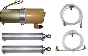1963-1964 Pontiac Bonneville And Catalina Convertible Top Pump Cylinders And Hoses