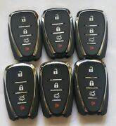 Lot Of 6 Oem Chevrolet 4 Button Remote Hyq4ea