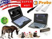 Veterinary Ultrasound Scanner Machine With Rectal+linear+ Micro-convex 3 Probes