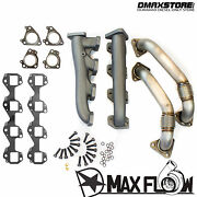 High Flow Race Series Manifolds And Up Pipes For Gm Chevy Gmc 6.6l Duramax Diesel