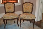 Period Louis Xv Pair Fauteulin Chairs C 1750 Ex Tyreso Palace Sweden