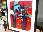 Large Modern Original Cityscape Nude Painting C. Scott Snyder Signed