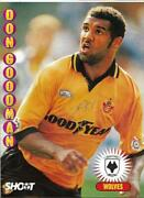 Wolverhampton Wanderers - Don Goodman - 1994-95 Signed Full Page / Wolves