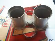 33mm Smoothbore Mikuni Velocity Stacks 70mm Long With Step. 2 Only