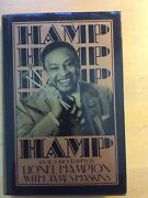 Hamp An Autobiography Signed By Lionel Hampton 1989 Warner Books Hardcover