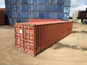 Used 40and039 Dry Van Steel Storage Container Shipping Cargo Conex Seabox Louisville