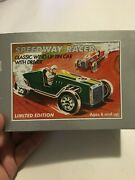 Schylling Speedway Racer Classic Wind-up Tin Car And Driver Limited Edition W Coa