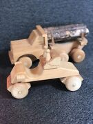 Vintage Vermont Wooden Toys- 1970s Handmade Toys Waitsfield Vermont