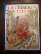 Emerald City Of Oz. 1st Edition 1st State 1910 Copp Clark Canadian Edition