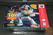 Toy Story 2 Movie Ticket Variant Nintendo 64 N64 Factory Sealed - Ultra Rare
