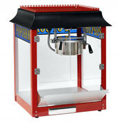 Red 1911 Old Fashion 8 Ounce Popcorn Machine