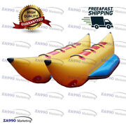 Commercial Inflatable Flying Fish Banana Boat Water Float Game For 6 Passenger