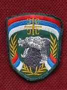 Serbia - Balcan War Era - Unit For Special Operations Jso - Red Beret Patch Firs