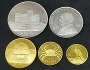 Rarely Seen 1975 Gold And Silver Set - First Issue- Uncirculated - Mintage 2000