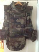 French Army Combat Vest Multiple Pockets Size Chest 106-116cm 42andrdquo/46andrdquo