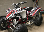 Yfz 450 2003 -08 2500red And 2003 Ltz400 2500yellow Graphics Kits