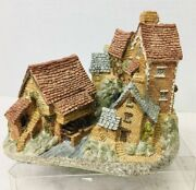 David Winter Cottage Brookside Hamlet Mould 1 Very Early Rare Good Shape