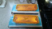 1973 To 1980 Nos Chevy Truck Parts Parking Turning Lights And Housings Vintage