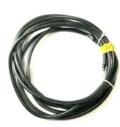 Black Battery Cable 1 Awg 23and039 With Terminal Ends Boat / Marine