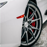20 Rohana Rfx13 Silver 20x9 20x10 Concave Wheels Rims Fits Ford Mustang Gt