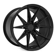 20 Rohana Rfx13 Black 20x9 20x10 Forged Concave Wheels Rims Fits Ford Mustang