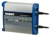 Guest 2710a Charge Pro Battery Charger 10 Amp 12 Volt Output 1 Bank 10 / 120 V