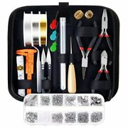 Jewelry Making Supplies Kit With Tools Wires And Findings Worldwaide Free Shipping