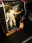 Elvis Is Collectible Live In Las Vegas Christmas Ornament Trevco Presley