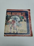 Sunoco Dx Nfl Action '72 Stamp Album 1972 No Stamps Pulled Off