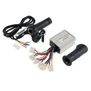 24v Dc Electric Bicycle Throttle Grips Motor Brush Speed Controller Set