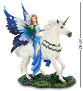 Studio Collection By Veronese Design Ws-789 Figurine Queen Of Magic -anne Stokes