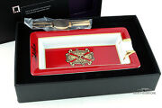 S.t. Dupont Red Fuente Opus X 2006 Limited Edition Ashtray 342/350 Vault Kept