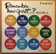 Various Artists – Columbia – Remember How Great Volume 2 E/e