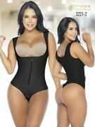 Fajas Posture Tummy Thong Body Shapers High Compression Reductoras Wide Straps