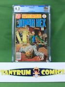 Jonah Hex 1 1977 Cgc 9.2 - A Dc Comics Key 1st Issue With White Pages