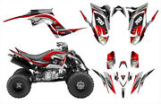 Raptor 700 Graphics Decal Kit For 2013 2014 2015 2016 2017 2018 Design 3737 Red