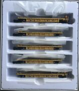 Walthers Mainline Ho Thrall 5 Unit Rebuilt 40' Well Car Dttx 748192a-e 910-55612