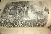 The Great Riots Of New York, 1712 To 1873. Draft Riot 1863. Rare Antique Worn