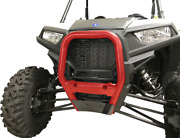 Moose Racing 2 Red Steel Front Bull Bar Bumper - Made In The Usa 0530-1444