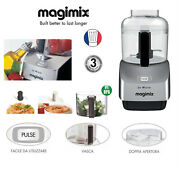 Magimix Le Micro Argent Cromed Mini Garbage